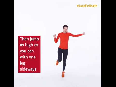 Day 18: Single Leg – Side to Side Jump