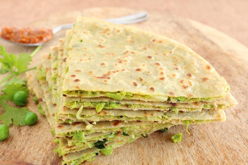 diabetes-friendly-indian-recipes-green-peas-partha