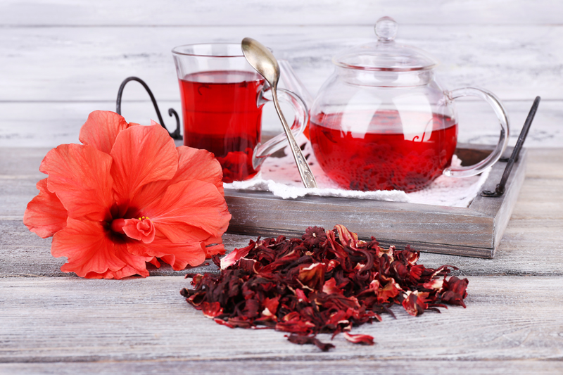 Use Hibiscus Tea - Home Remedies for High Blood Pressure