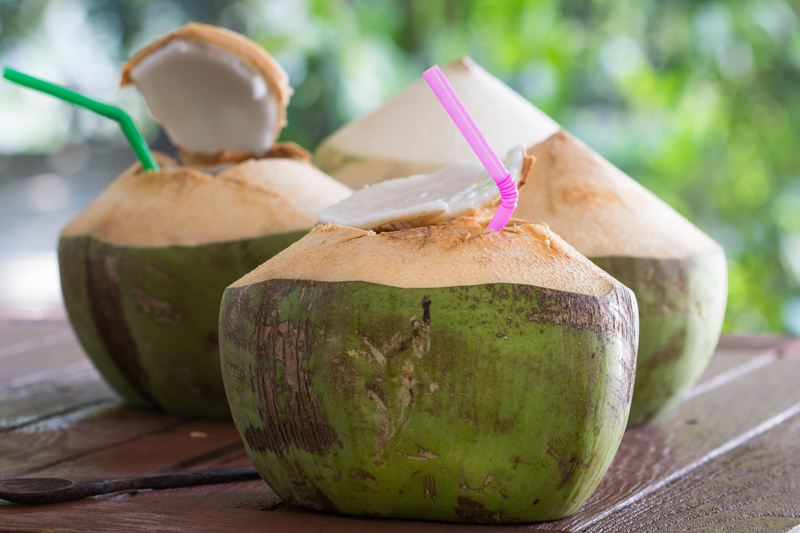 Drink Coconut Water - Home Remedies for High Blood Pressure