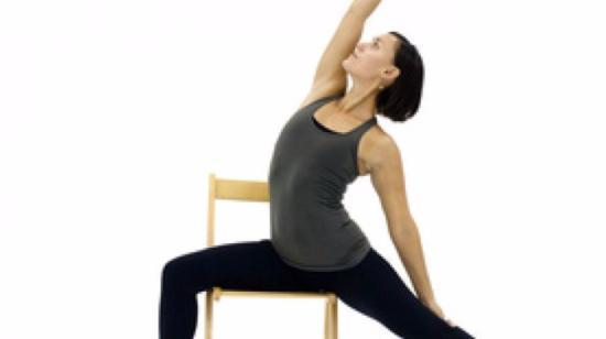 5 Yoga Poses That Seniors Can Do in a Chair - Virbadrasana