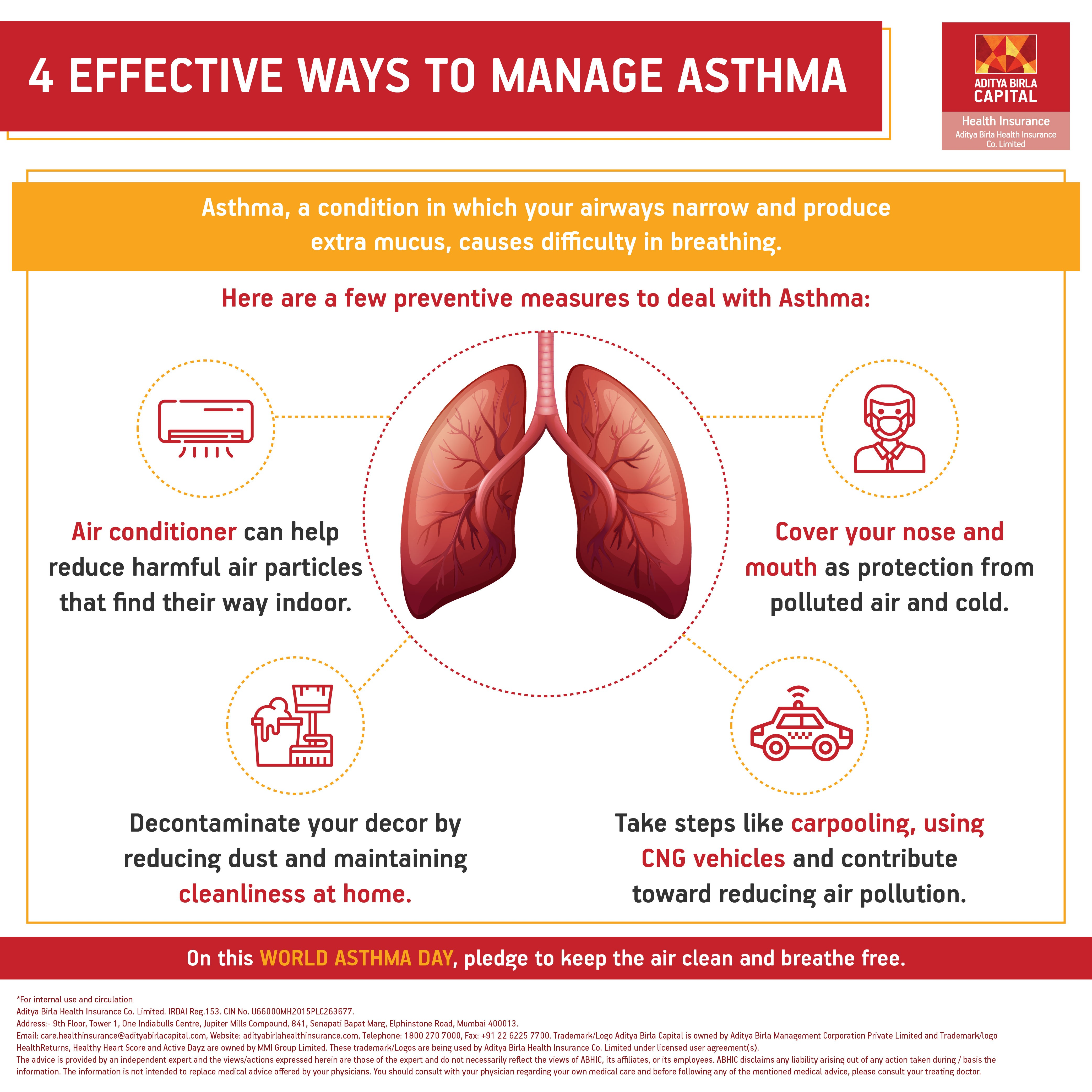 Precautions to Control & Manage Asthma