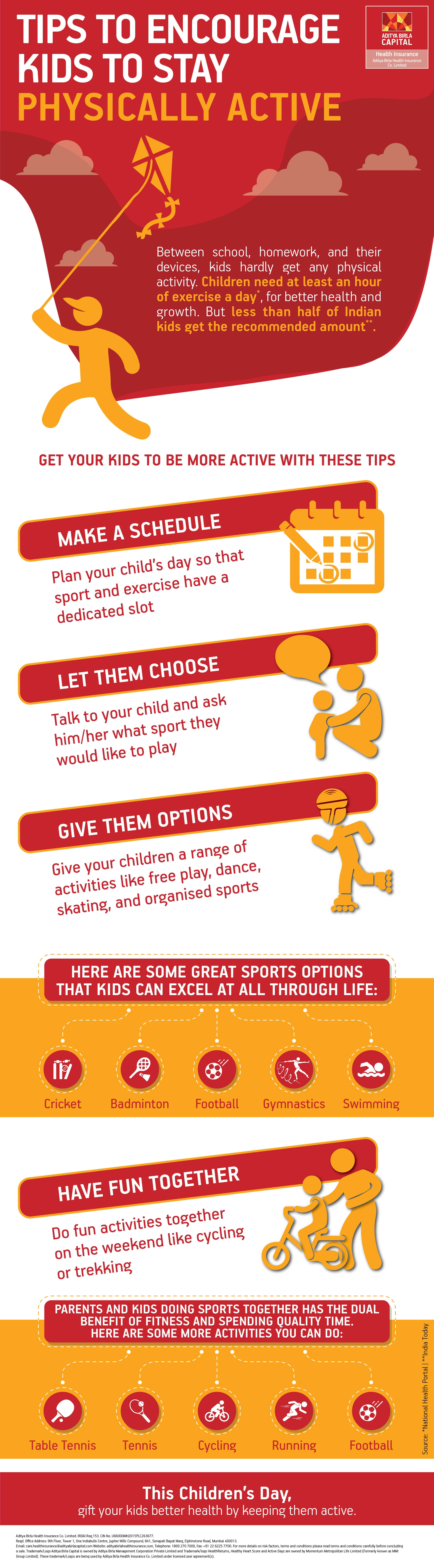 How To Make Your Child Active - Infographic- Activ Together
