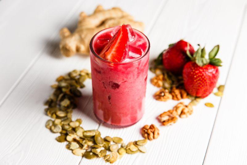 Strawberry Ginger Smoothie - Activ Living