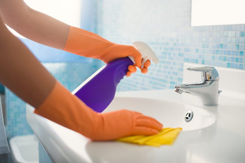 Sanitize Bathrooms - Activ Living