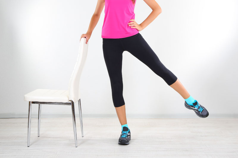 Lower Body Workouts With A Chair - Activ Living