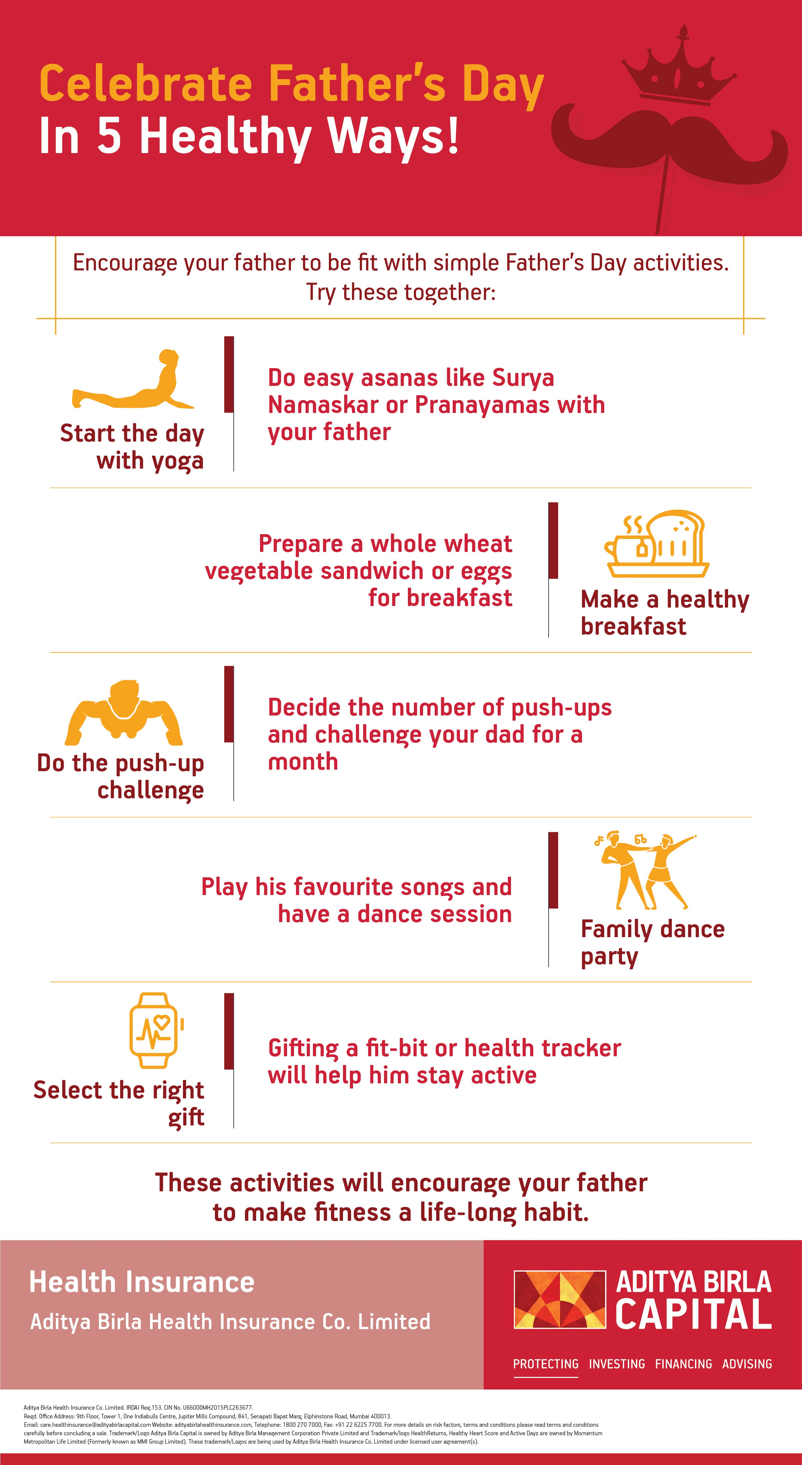 Celebrate Father Day In 5 Healthy Ways- Activ Living