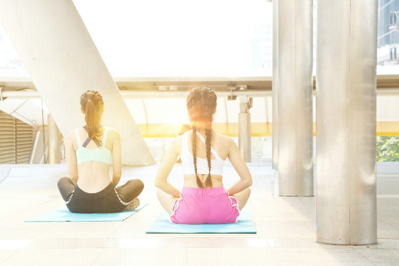Staying fit and managing stress as young adults
