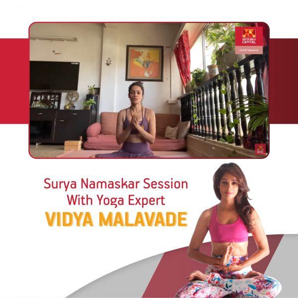 Surya Namaskar with Vidya Malavade- Activ Dayz