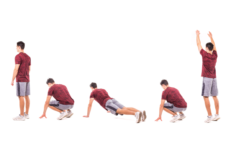 Burpees As A Cardio Exercise- Activ Living