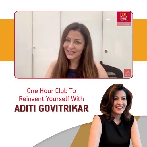 Aditi Govitrikar- Health From Home