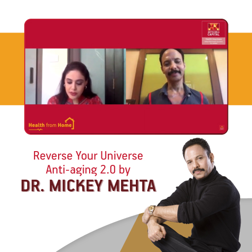 Reverse your universe by Dr. Mickey Mehta - Activ Living