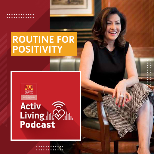 Routine for positivity by Aditi Govitrikar- Activ Living
