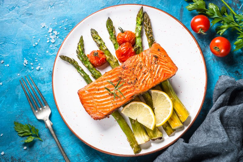 Grilled Salmon- Activ Living