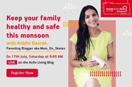 Health From Home with Riddhi Deorah 17Jul