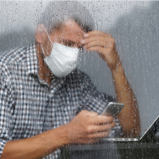 how to deal with wet mask